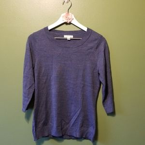 3/4 sleeve New York and co sweater
